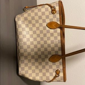Authentic Louis Vuitton Neverfull PM Damier Azur